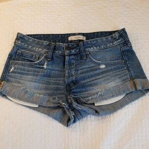 Abercrombie Jean Shorts Size W26